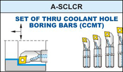 A-SCLCR Boring Bar Tool Set