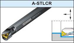 A-STLCR Screw Clamp Boring Bar
