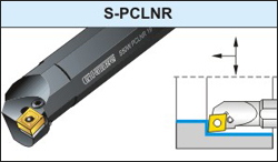 Boring Bar With Clamping System - A-PCLNR