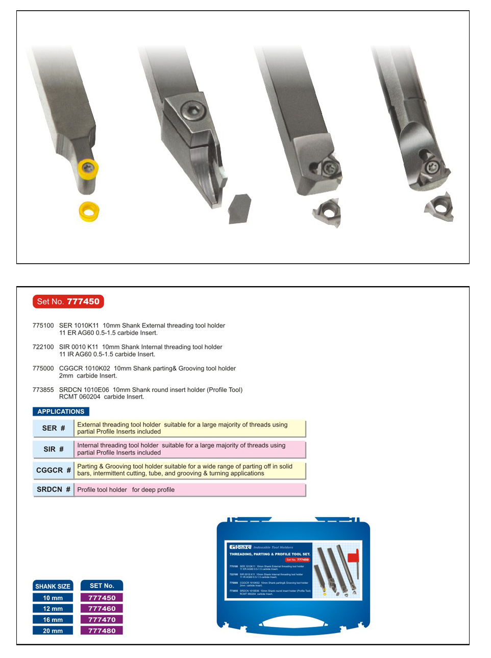 'Glanze - Industrial Tools Manufacturers India' from the web at 'http://www.glanze.com/indexable-tool-holders/../products/milling-cutters/mc-threading-parting.jpg'