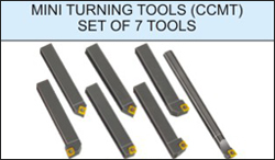 'Glanze - Industrial Tools Manufacturers India' from the web at 'http://www.glanze.com/indexable-tool-holders/../products/milling-cutters/mc-thumb/mc-ccmt-set-of-7-tools.jpg'