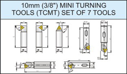 'Glanze - Industrial Tools Manufacturers India' from the web at 'http://www.glanze.com/indexable-tool-holders/../products/milling-cutters/mc-thumb/mc-tcmt-set-of-7-tools.jpg'